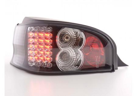fanale posteriore a LED per Citroen Saxo (tipo S/S HFX / S KFW) anno di costr. 96-02 cromato