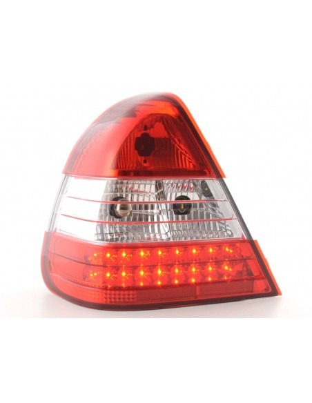 fanale posteriore a LED per Mercedes classe C (tipo W202) anno di costr. 96-00 cromato