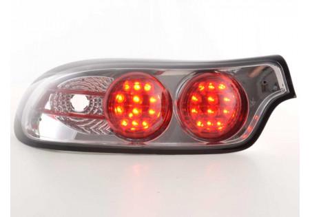 fanale posteriore a LED per Mercedes Benz classe E (tipo W210) anno di costr. 95-98 nero
