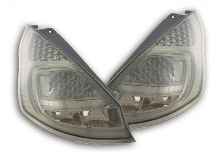 fanale posteriore a LED per Ford Fiesta 7 (JA8) 5-porte anno di costr. 08-- nero
