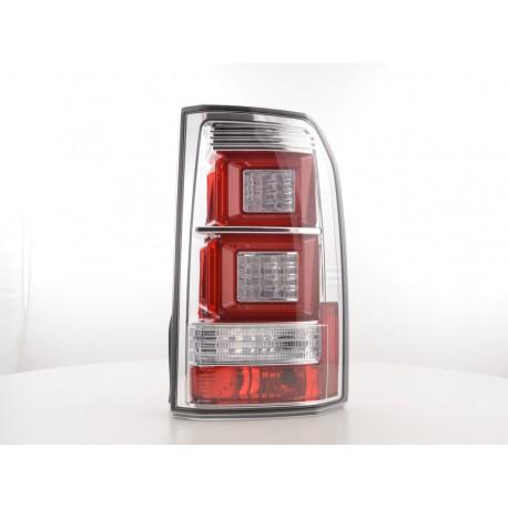 fanale posteriore a LED Land Rover Discovery 3 anno di costr. 04-09 cromato