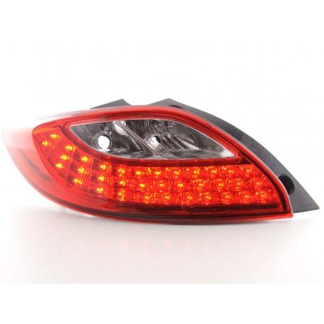 fanale posteriore a LED per Mazda 2 (DE) anno di costr. 07-- rosso/chiaro