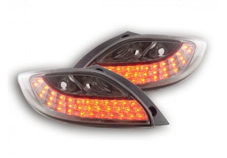 fanale posteriore a LED per Mazda 2 (DE) anno di costr. 07-- nero