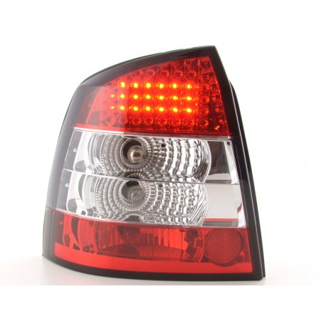 fanale posteriore a LED per Opel Astra (tipo G) 3/5 porte anno di costr. 98-03 cromato
