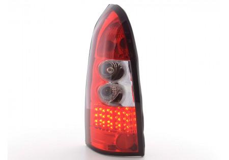 fanale posteriore a LED per Opel Astra (tipo G) Caravan anno di costr. 98-03 chiaro/rosso