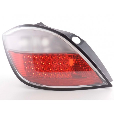 fanale posteriore a LED per Opel Astra 5 porte (tipo H) anno di costr. 04- nero
