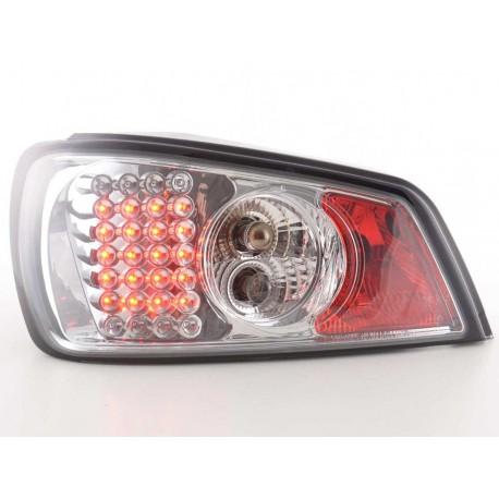 fanale posteriore a LED per Peugeot 307 (tipo 3RHY/3RFN/3NFU/3RHS/3KFU) anno di costr. 01-04 cromato