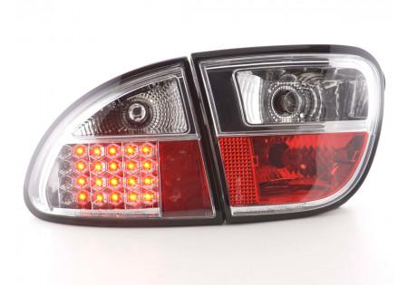 fanale posteriore a LED per Seat Leon (tipo 1M) anno di costr. 1999-2005 nero