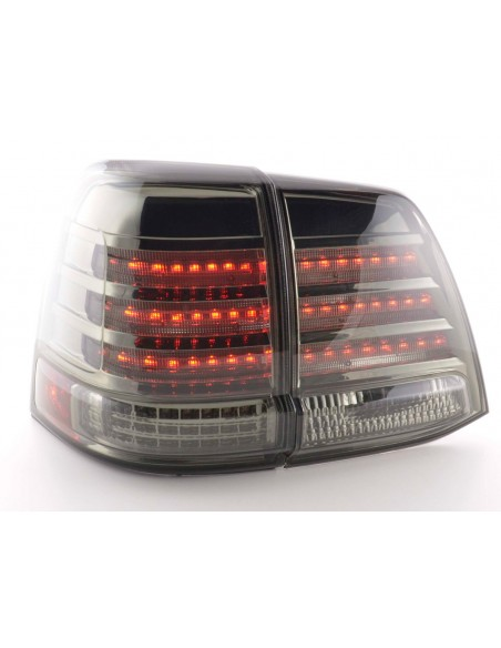 fanale posteriore a LED per Toyota Land Cruiser (tipo FJ200) anno di costr. 07-08 cromato