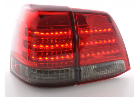 fanale posteriore a LED per Toyota Land Cruiser (tipo FJ200) anno di costr. 07-08 nero AC-CBRLXLTY010003