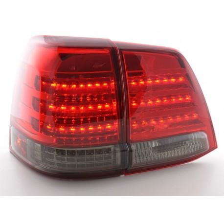 fanale posteriore a LED per Toyota Land Cruiser (tipo FJ200) anno di costr. 07-08 nero