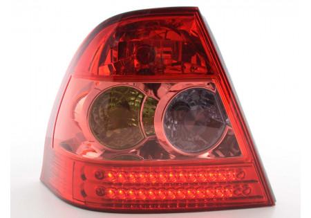 fanale posteriore a LED per Toyota Land Cruiser (tipo FJ200) anno di costr. 07-08 nero/rosso