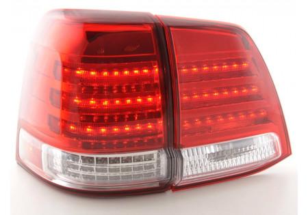 fanale posteriore a LED per Toyota RAV4 anno di costr. 98-00 chiaro/giallo/rosso