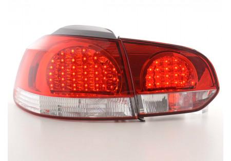 fanale posteriore a LED per VW Golf 6 (tipo 1K) anno di costr. 08- nero