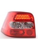 fanale posteriore a LED per VW Golf 4 (tipo 1J) anno di costr. 98-02 cromato