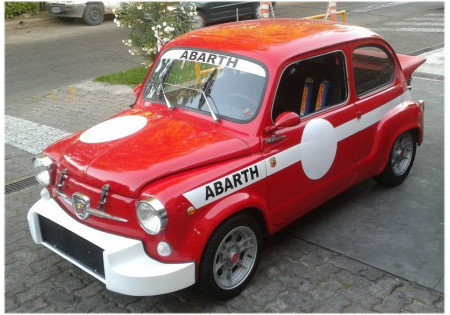 SOTTOPARAURTI ANTERIORE FIAT 600 ABARTH
