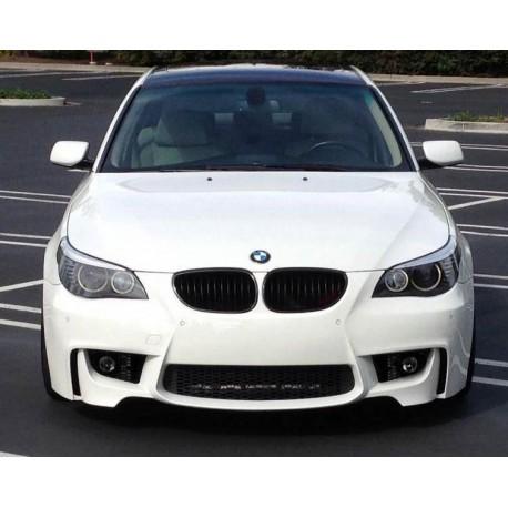 PARAURTI ANTERIORE BMW E60/61 M1 LOOK + FENDINEBBIA ACFB703