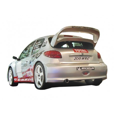 PARAURTI POSTERIORE PEUGEOT 206 WRC ACRB133