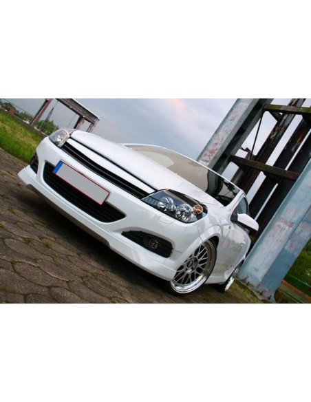 sottoparaurti anteriore opc look opel astra h twin top