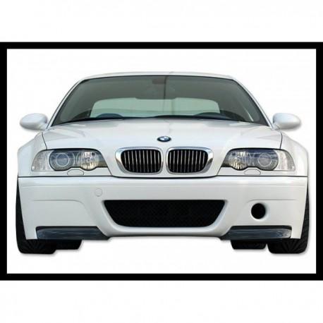 PARAURTI ANTERIORE BMW E46 M3 ABS C/FLAP CARBONIO LOOK CSL AC-TCB6103