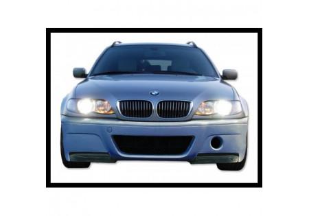 PARAURTI ANTERIORE BMW E46 2/4P TIPO CSL FLAP CARBONIO