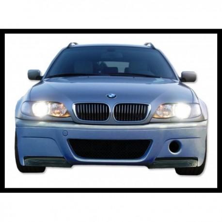 PARAURTI ANTERIORE BMW E46 2/4P TIPO CSL FLAP CARBONIO AC-TCB6125