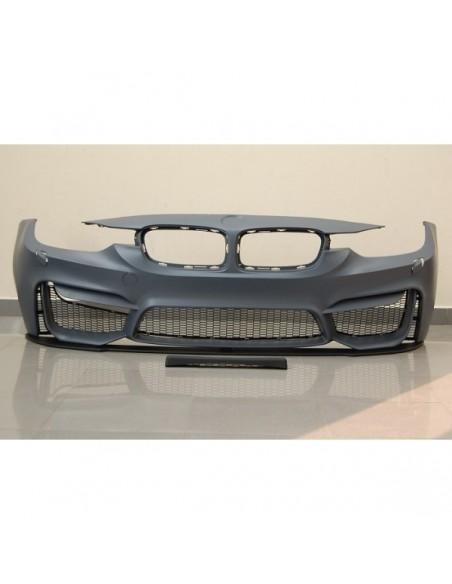 PARAURTI ANTERIORE BMW F30-F31 12-14 LOOK M4 LIP SPOILER ABS AC-TCB6214325
