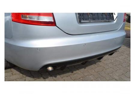 Sottoparaurti posteriore diffusore RS6 LOOK audi a6 c6 berlina cbtf0056