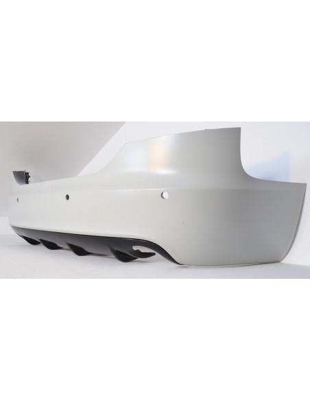 Sottoparaurti posteriore diffusore RS6 LOOK audi a6 c6 AVANT cbtf0049