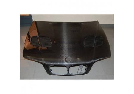 COFANO IN FIBRA DI CARBONIO BMW E46 M3 GTR