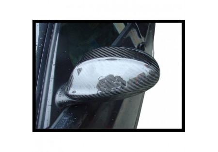 CALOTTE SPECCHI IN CARBONIO BMW E90 / E91 05-08